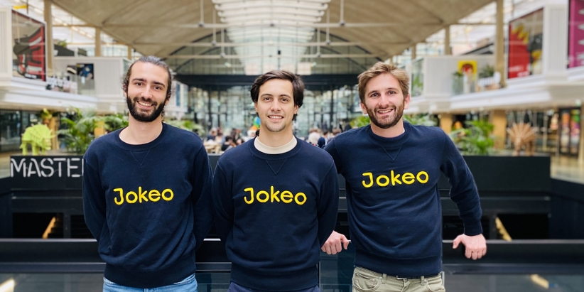 L'équipe de Jokéo à la Station F